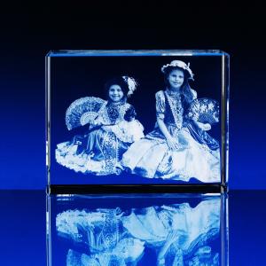 Fotografie do skla kvádr tři velikosti