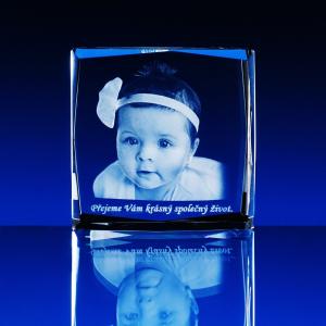 3D Fotografie kvádr skosené hrany menší