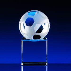 2D trofej volitelný míč s podstavcem
