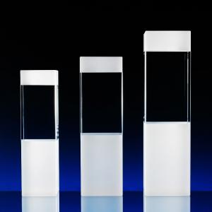 3D skleněná trofej ve třech velikostech