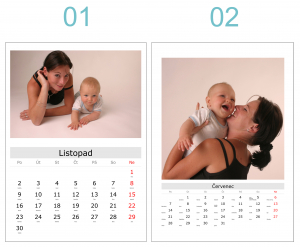 <strong>KALENDÁŘ</strong> měsíční A3 nebo A4
